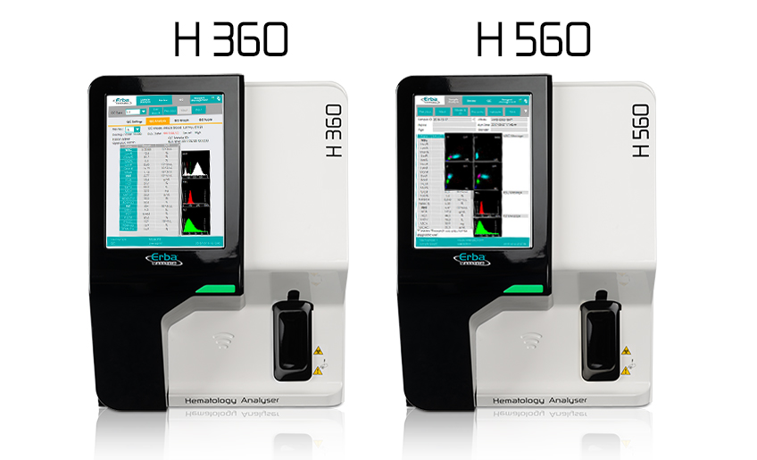 MEDLAB 2019 Products - Erba Mannheim – H360 and H560