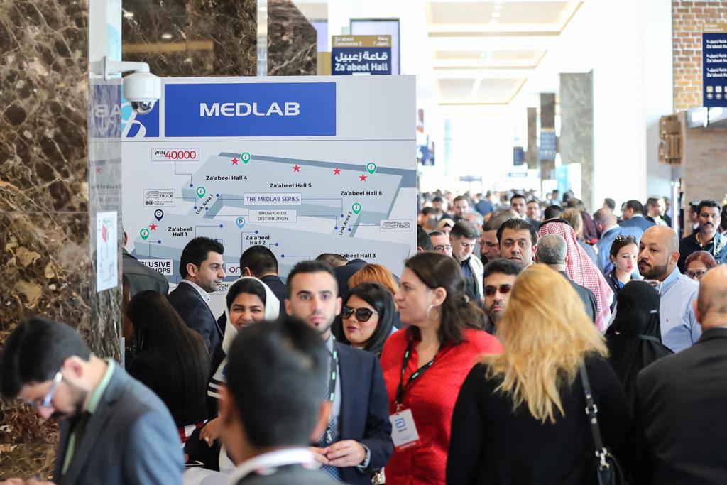 نمایشگاه تجهیزات آزمایشگاهی دبی (2018 MEDLAB)
